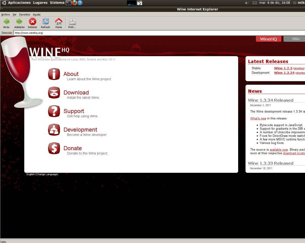 ¿Cómo instalar Internet Explorer en Ubuntu 10-04..? Aprende a instalar Internet Explorer 4 for Linux para Ubuntu