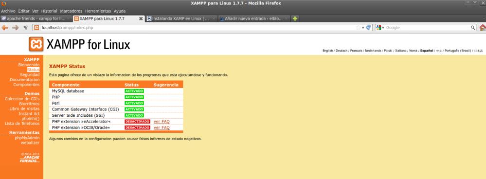 Seguridad XAMPP para Linux - Aprende a configurar tus servidores Apache y MySQL tras su instalación (2/3)