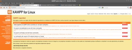 Medidas de seguridad para XAMPP de Linux